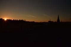 Daybreak in Austria