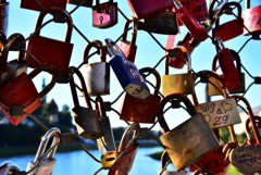Locks of Mozartsteg