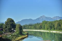 Beautiful Scenery from Railjet
