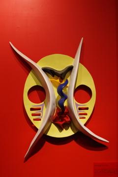 「マスク」_岡本太郎記念館