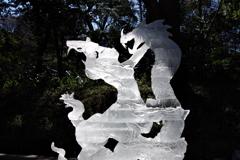 「神話」_明治神宮奉納全国氷彫刻展