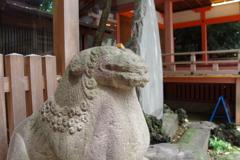 狛犬_川越氷川神社
