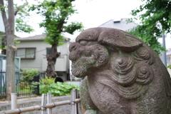 狛犬_鎧神社