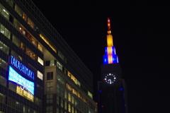 タイムズスクエアとドコモタワー