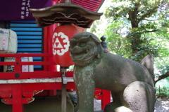 狛犬_井の頭弁財天