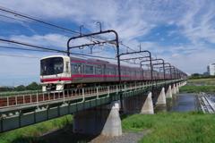 多摩川と京王線