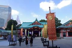 拝殿_日枝神社