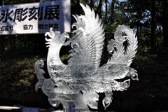 「フェニックス」_明治神宮奉納全国氷彫刻展