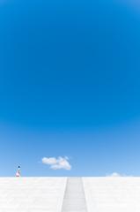 夏と雲の距離