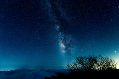 茶臼岳の星降る夜