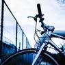 忘れられた自転車。