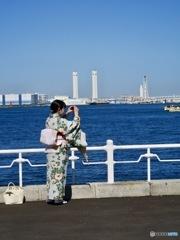 横浜のとある一日。