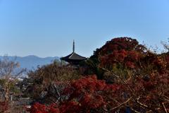 当麻寺 奥院からの眺め