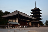 夕刻の興福寺