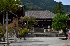 初秋の当麻寺