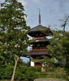 法起寺 三重塔