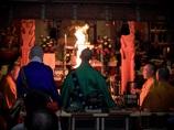 明日香村 大字岡 岡本寺春季護摩法要 子安観音祭