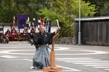 登米秋祭りにて 居合二刀流
