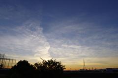 6月の朝の空2
