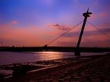 葛西臨海公園の夕暮れ