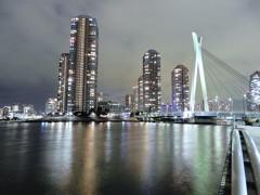 リバーシティー21と中央大橋