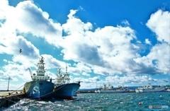 小名浜港の漁船たち (^^♪