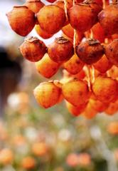 串柿の甘味