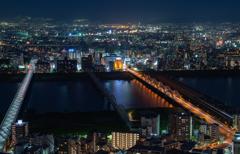 大阪夜景を堪能2