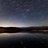 余呉湖の星空