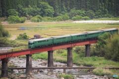 沈下橋と鉄橋