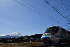 富士山とフジサン