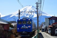 富士山から下りてきた