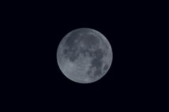 皆既月食前_(かけ始めより45分前)