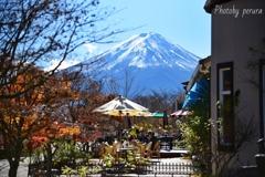 木ノ花美術館からの富士山