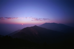 篭ノ登山(日の出)