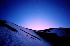 平標山(日の出前)