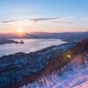 夜明けの洞爺湖 そのに。