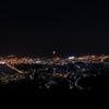 天狗山からの夜景。