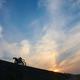 単車のある夜明けの風景 3