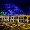 嵐山花灯路2017 渡月橋ライトアップ