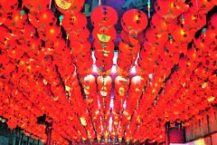 紅夢~台湾 Red paper lanterns