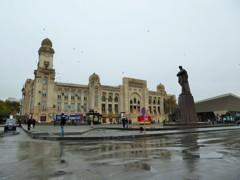 遣らずの雨~アゼルバイジャン  Former Sabunchu Station