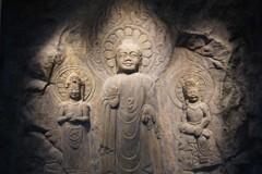 瑞山磨崖三尊佛~仏教彫刻 Seosan Buddha Triad