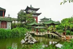 春爛漫の滕王閣~中国 Tengwang Pavilion