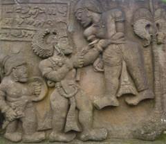 神々の葛藤~ヒンドゥー彫刻 Candi Sukuh