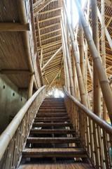 竹の階段~インドネシア Restaurant Kapal Bambu