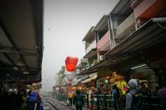 天燈上げ~台湾 Sky lantern