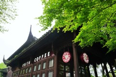 西湖のコスタコーヒー~中国 Costa Coffee West Lake