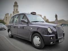 バクーのロンドンタクシー~アゼルバイジャン Black cab LT4 TX4