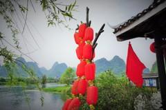 世外桃源の赤提灯~中国 Shangri-la Scenic Spot